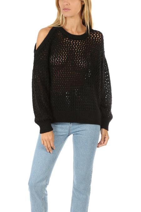 IRO Breath Pullover Sweater - Black