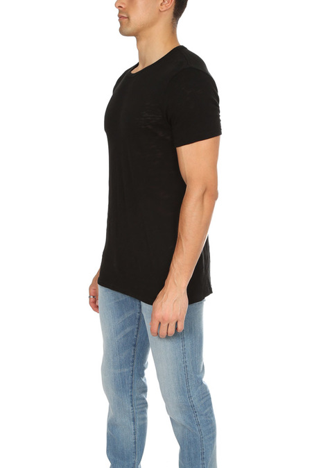 ATM Slub Crew Classic T-Shirt - Black