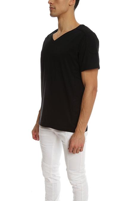 Pierre Balmain V Neck Top - Black