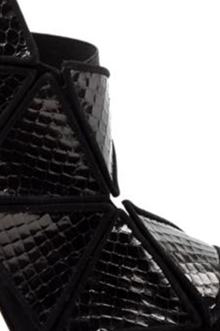 Chrissie Morris Cosmos Heel Shoes - Black