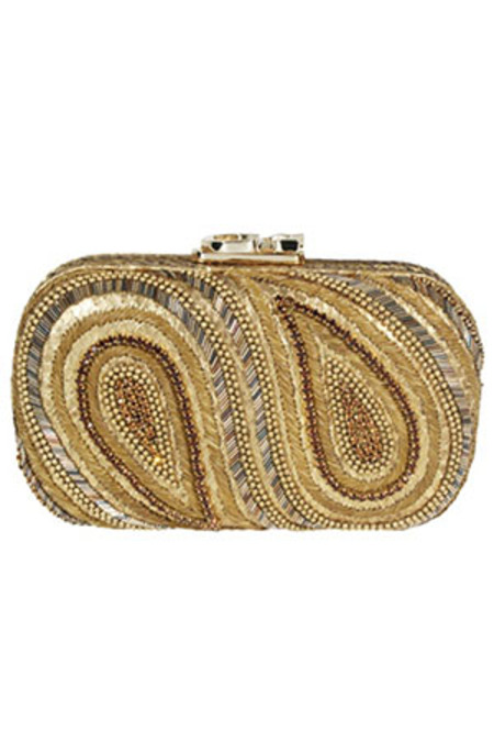 Corto Moltedo Susan C Star en Eye Bag - Gold/crystal lined