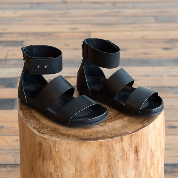 Woman by Common Projects Double Strap Zip Sandal