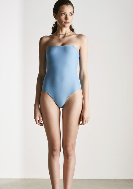 BOWER. Off Side One Pice Swimsuit