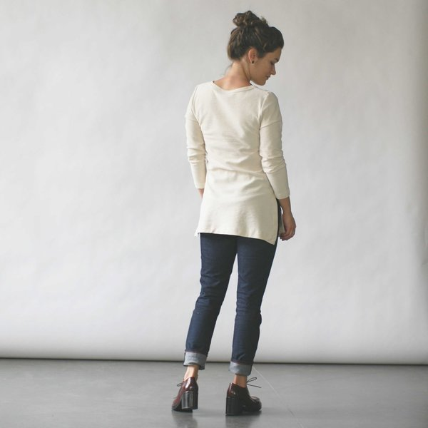 Make It Good Composition #1 Tunic in Cream