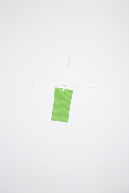 Giu Giu NONNA Animal Collar - Celery