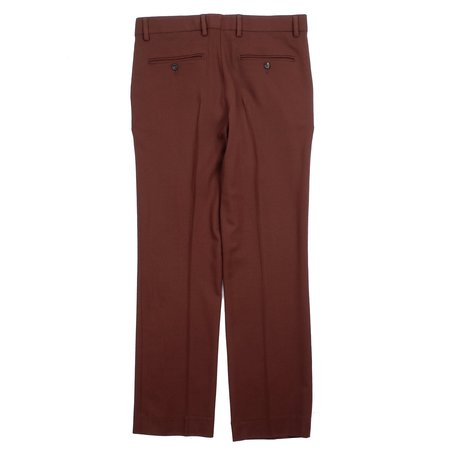 SECOND/LAYER WV TAILORED BOOTCUT PANTS - WINE