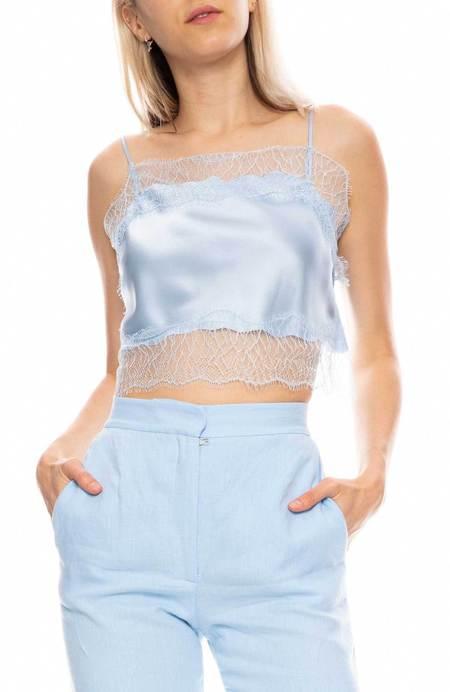 SABLYN Rose Lace Crop Cami