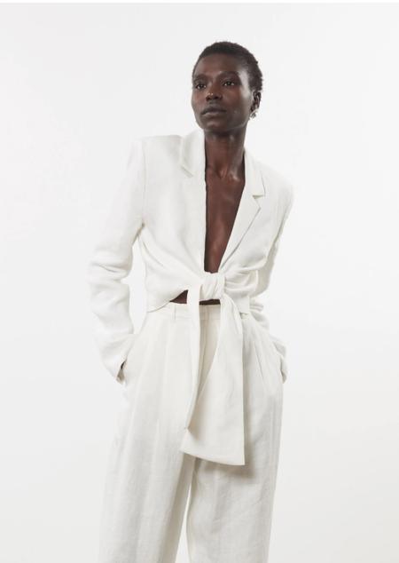 Mara Hoffman Catalina Jacket - White