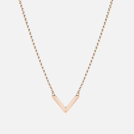 Miansai Angular Necklace - Rose