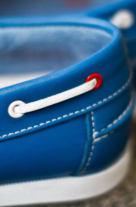 La Paz Galo Boat Shoes - Royal Blue