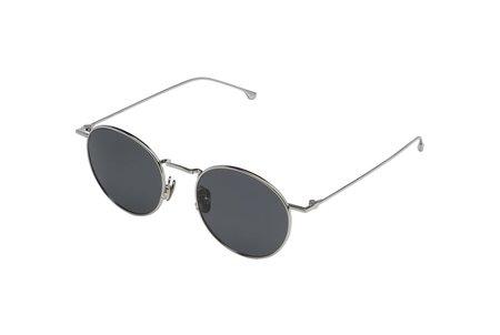 KOMONO Silver Smoke Dean Sunglasses