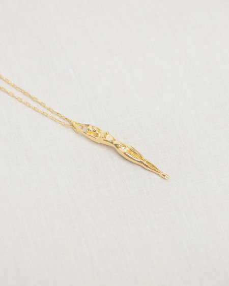 Nina Berenato Goddess Necklace - Gold