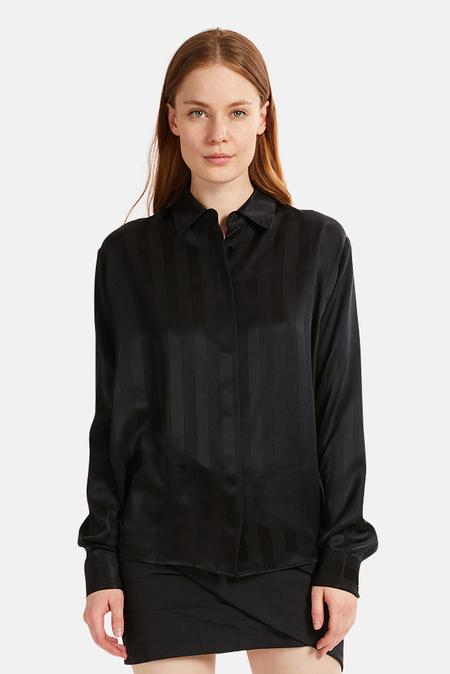 RtA Brady Shirt - Sultry Stripes