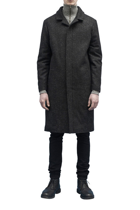 Men's Journal Grave Coat | Gray