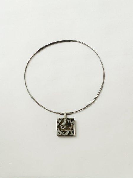 Terri Logan Square Pendant Necklace