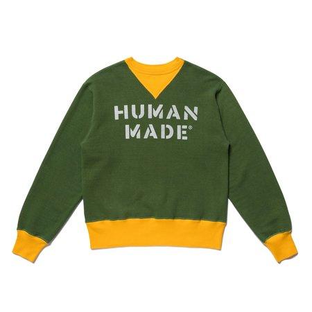 Human Made Stencil Sweatshirt - Green