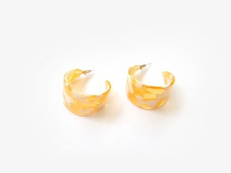 Valet Studio Athena Earrings - Yellow