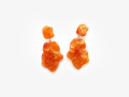 Valet Studio Molly Earrings - Orange