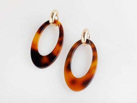 Valet Studio Opulent Earrings - Tortoiseshell