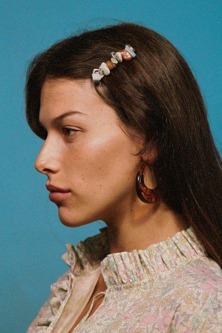 Valet Studio Paige Earrings - Tortoise