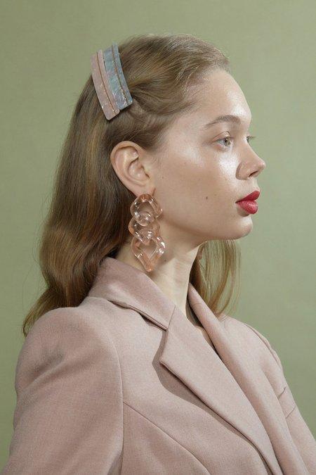 Valet Studio Romane Earrings - Pink