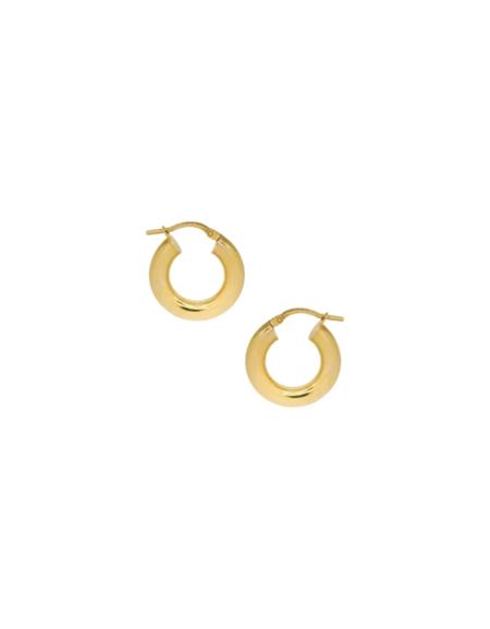 VAN DER HOOT Everyday Hoops - 10k Gold