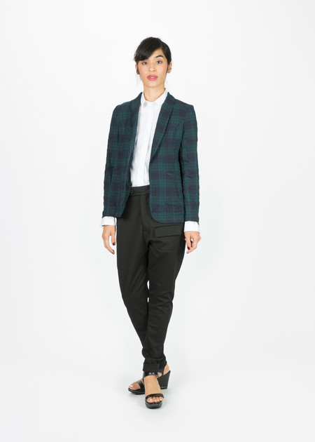 Harvey Faircloth Lightweight Buttonless Blazer