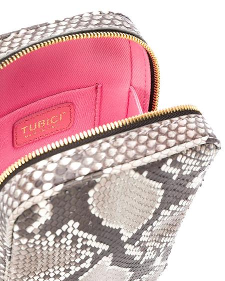 Tubici Los Angeles Python Neck Bag - Multicolor
