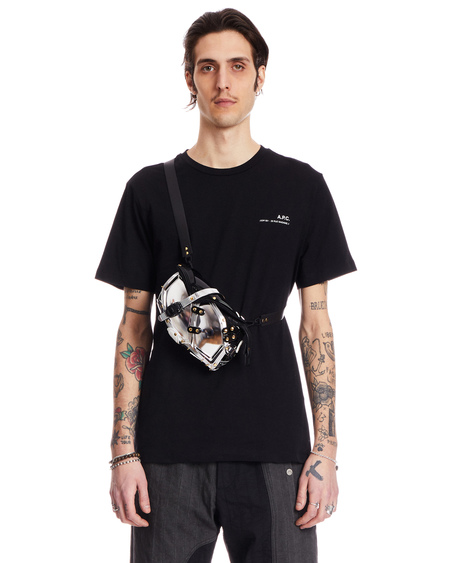 Innerraum Design Shoulder Bag - Silver