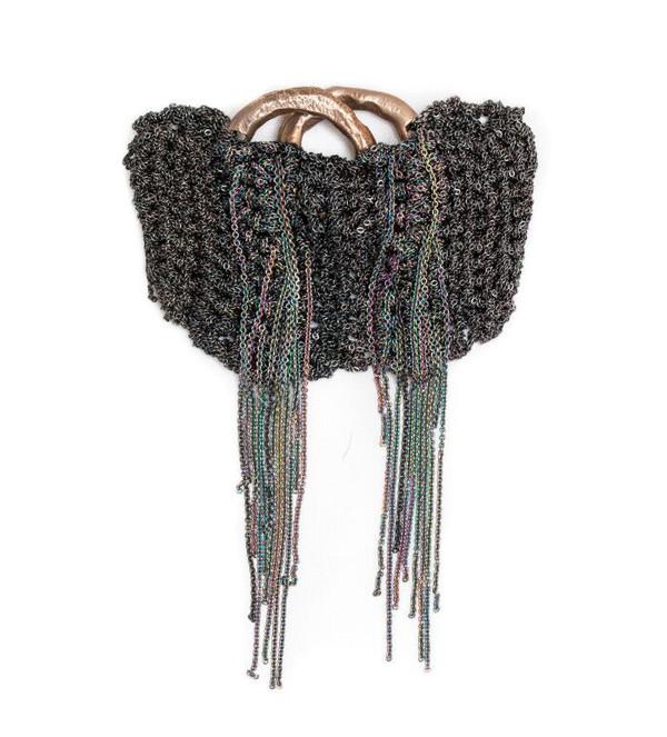 Arielle De Pinto Waterfall Bracelet in Midnight + Spectrum