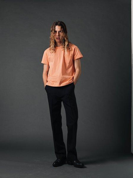 SECOND/LAYER Firme Pocket T-Shirt - Cadium Orange
