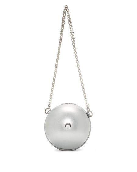 Marine Serre Silver Ball Bag