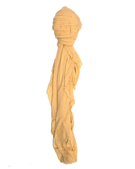 Grisal Le Tee 100% Cotton Scarf in Mellow Yellow