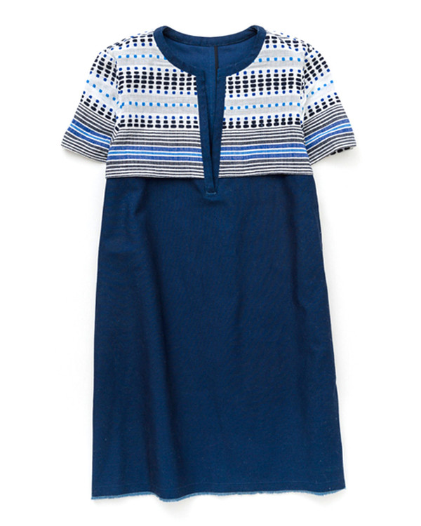 LemLem Jaha Dress in Indigo