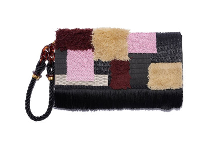 Lizzie Fortunato Opera Clutch in Tapestry
