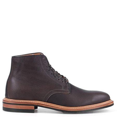 Viberg Oiled Calf Derby Boot - Clove