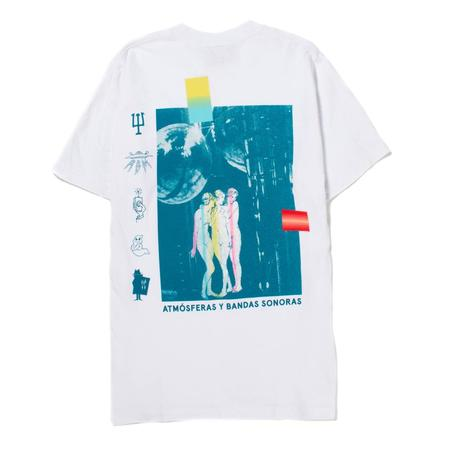 Real Bad Man Neu Bandas T shirt - White