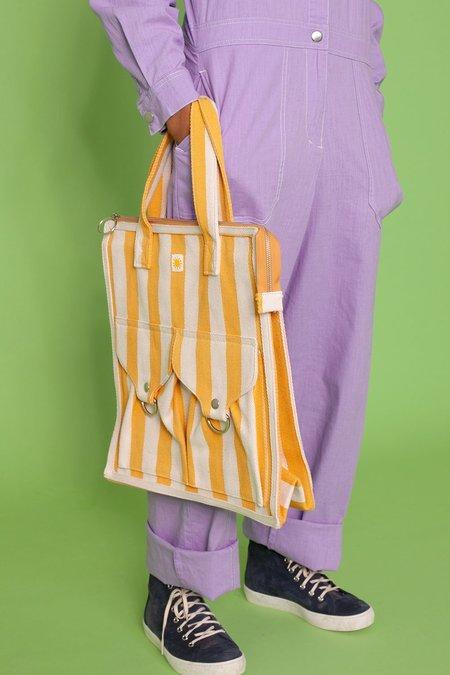 L.F.Markey Striped Beach Bag