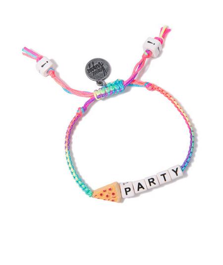 Venessa Arizaga Pizza Party Friendship Bracelet