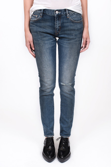 Earnest Sewn Astor Slouchy Skinny Stillwell Blue