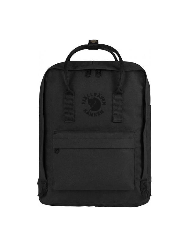 Fjallraven Re-Kanken Backpack Black