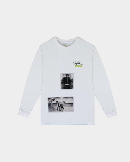 Tony Hawk Signature Line Long Sleeve T Shirt - White
