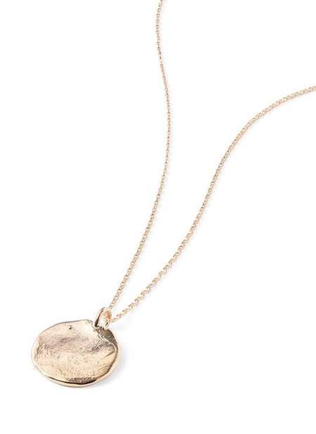 Baleen Cache Necklace - Gold Plate