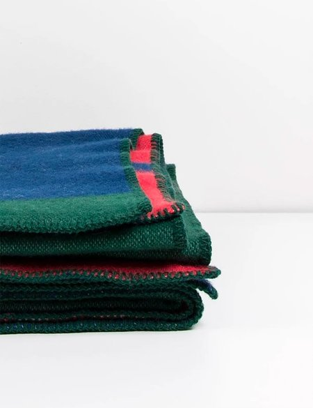 ZigZagZurich Michele Rondelli and Sophie Probst Bauhaused 1 Wool Blanket - multi