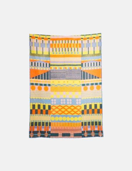 ZigZag Zurich Gunta Wool Blanket - Multi