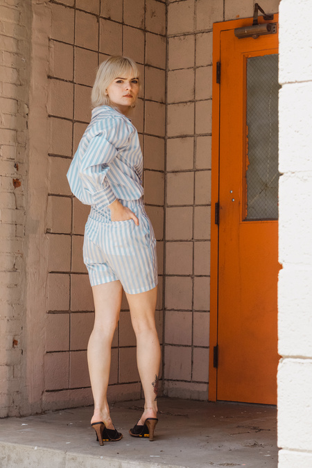 By Signe Ivy Shorts - Striped