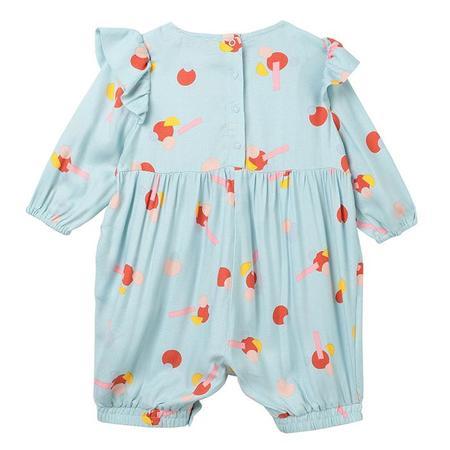 Kids Stella McCartney Jumpsuit - Blue/Geometric Flowers
