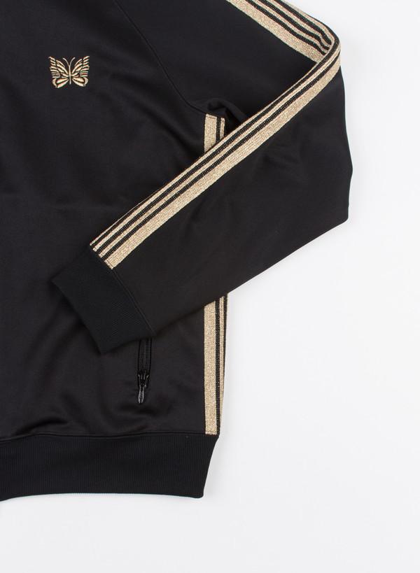 Men's Needles Track Jacket Black/Gold