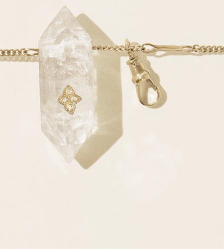 Pascale Monvoisin Prana No.2 Necklace - 9K yellow gold