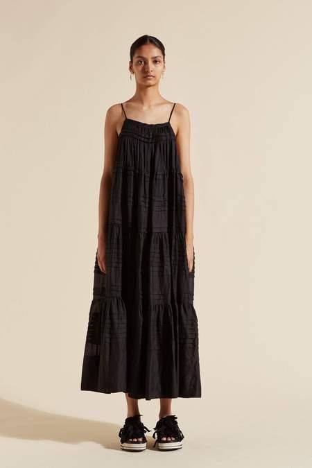 Lee Mathews GIGI CAMI DRESS - BLACK